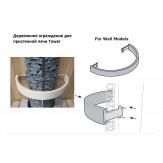 Защитное ограждение из талькохлорита для печей Tower TH2 и TH3 Sawo TH-GUARD-S2-WL