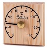 Термометр для сауны Sawo 105-TED с лазерной гравировкой