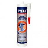 Герметик Tytan силиконовый термостойкий 300°С красный 310 мл