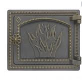 Дверка печная Везувий ДТ-3 цвет бронза