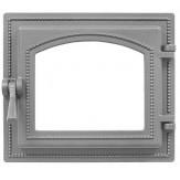 Дверка каминная Везувий 260 не крашенная без стекла