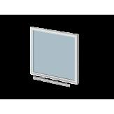 "Дверца со стеклом ROBAX 17"" Панорама для печей Теплодар"