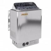 Электрическая печь для бани PekoEH-45 хром