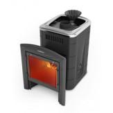 Печь для бани TMF (Термофор) Гейзер Мини 2016 Carbon Витра ЗК ТО антрацит