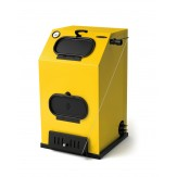 Котел водогрейный TMF Прагматик автоматик 25 кВт АРТ под ТЭН желтый