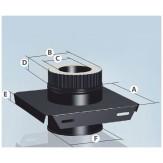 Монтажная площадка с полимерным покрытием Agni 1,5 d-115/200