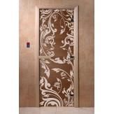 Дверь для саун DoorWood Венеция бронза 190*70