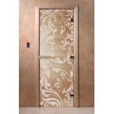Дверь для саун DoorWood Венеция прозрачное 190*70