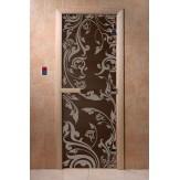 Дверь для саун DoorWood Венеция синий жемчуг 190*70