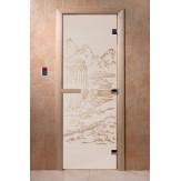 Дверь для саун DoorWood Китай сатин 190*70