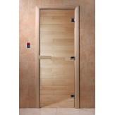 Дверь для саун DoorWood Прозрачное 180*60