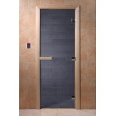Дверь для саун DoorWood Синий жемчуг 190*70