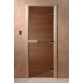 Дверь для саун DoorWood бронза 180*60