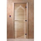 Дверь для саун DoorWood Арка прозрачное 190*70