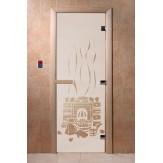 Дверь для саун DoorWood Банька сатин 190*70
