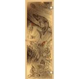 Дверь для сауны АКМА фьюзинг Подледный лов 700*1900