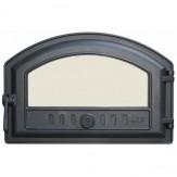 Каминное и печное литье 324 LK Дверца герметичная со стеклом (410х180/250)