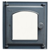 Каминное и печное литье 361 LK Дверца топочная со стеклом (250х280)