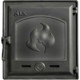 Каминное и печное литье 371 LK Дверца герметичная глухая (250х280)