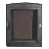 Каминное и печное литье 526 НТТ каминная дверца со стеклом