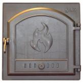 Каминное и печное литье 306 LK Дверца герметичная глухая (410х410)