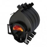 Печь отопления Везувий булерьян Везувий АОГТ 200 м3 (01) под стекло