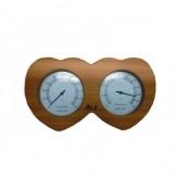 """Термогигрометр для бани """"Сердце"""" арт.205"""