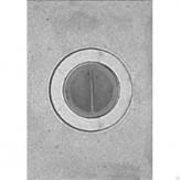 Плита однокомфорочная П1-2 (Б) 710х410мм