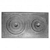 Плита двухкомфорочная П2-5 (Б) 760х455, под казан