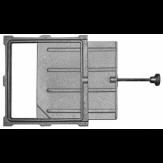 Задвижка ЗВ-5А (Р) печное литье