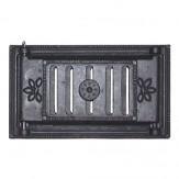 Дверка каминная поддувальная ДПК (Р) крашеная черная