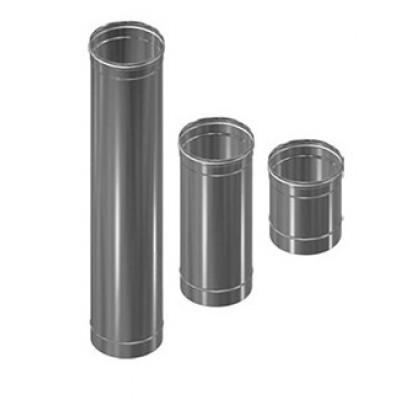 Дымоход Везувий Люкс труба из нержавеющей стали 1 мм L=0,5м д-150мм