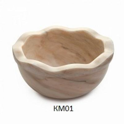 Курна мраморная КМ01 без слива