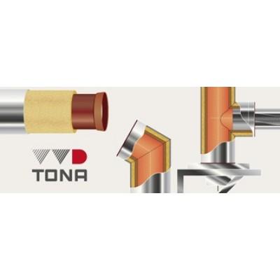 Труба стартовая двухконтурная керамический дымоход VVD-Tona 200-300