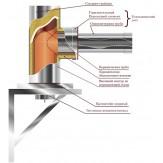 Горизонтальный переходной элемент VVD-Tona 150-240