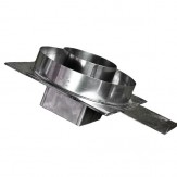 Переходной элемент с кирпичной кладки (шиберная задвижка) 125*125*180 VVD-Tona 150-240