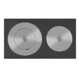 Плита двухкомфорочная усиленная Везувий 4В