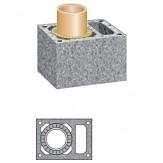 Дымоход из керамики Schiedel UNI одноходовой с вентиляцией 14L 4м