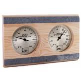 Термогигрометр для сауны и бани Sawo 282-ТНRD кедр