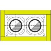 Универсальный комплект изоляции Schiedel UNI тип 2 для двухходовых дымоходных систем Schiedel UNI14-14 и Schiedel UNI14-16