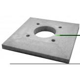 Консольная плита для одноходовой (без вентиляции) дымоходной системы Schiedel UNI 16