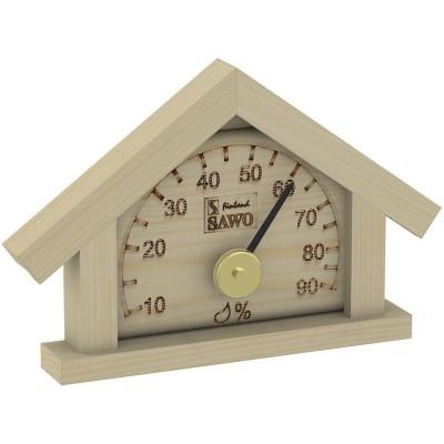 Гигрометр для сауны и бани Sawo 125-HР сосна