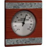 Гигрометр для бани и сауны Sawo 280-HRD кедр и талькохлорит
