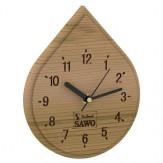 Часы для бани и сауны Sawo 252-D, кедр (устанавливаются в предбаннике)