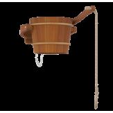 Sawo Обливное устройство, кедр, 18л, 393-D