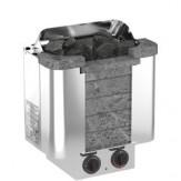 Электрическая печь  Sawo CUMULUS CML-45NB-P (6 кВт, встроенный пульт, облицовка – талькохлорит)