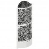 Электрическая печь SAWO DRAGONFIRE Heater King DRFT6-120N-CNR-P (12 кВт, выносной пульт, угловая, нержавейка)