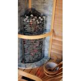 Защитное ограждение для печей угловой установки Sawo TOWER TH2 и TH3