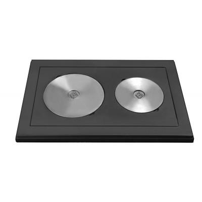 Плита усиленная двухкомфорочная Везувий 3В