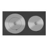 Плита усиленная двухкомфорочная Везувий 4В